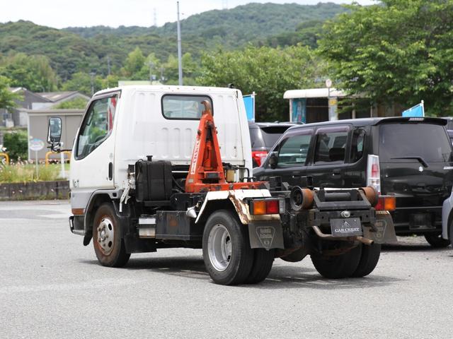 脱着式コンテナ専用車 アームロール フックロール 2トン 2t(6枚目)
