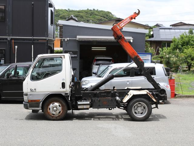 脱着式コンテナ専用車 アームロール フックロール 2トン 2t(14枚目)