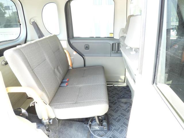 スローパー リヤシート付 福祉車両 フレンドシップシリーズ 左側スライドドア スロープ 電動固定 アイドリングストップ(18枚目)