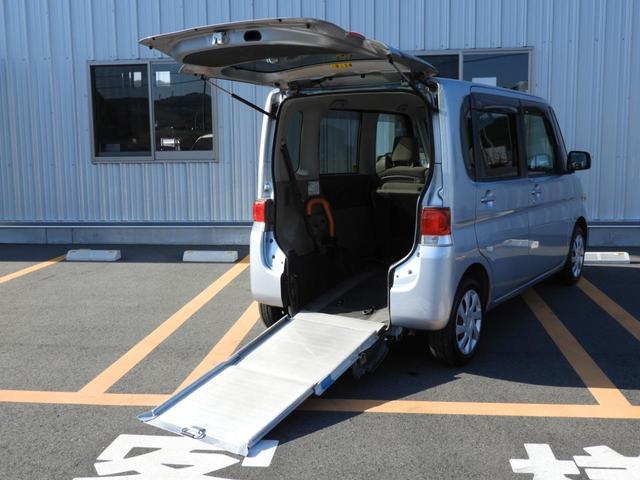 スローパー リヤシート付 福祉車両 フレンドシップシリーズ 左側スライドドア スロープ 電動固定 アイドリングストップ(21枚目)