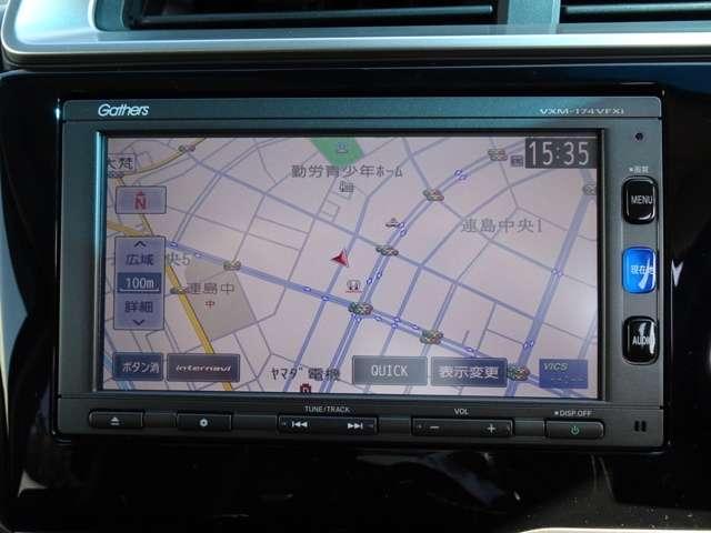 13G・S ホンダセンシング 純正7インチナビ装着車(10枚目)