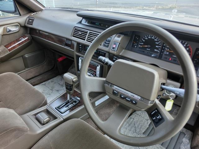ブロアムVIP ターボ 3000cc 4ドア ピラーレスハードトップ ブロアムVIPターボ エアサス カーステレオ以外 ノーマル(15枚目)
