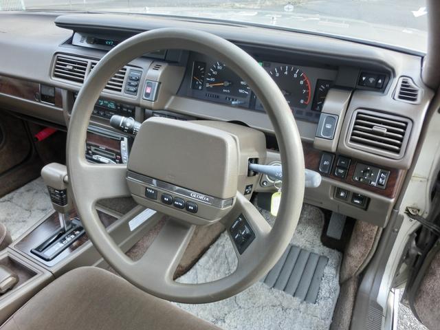 ブロアムVIP ターボ 3000cc 4ドア ピラーレスハードトップ ブロアムVIPターボ エアサス カーステレオ以外 ノーマル(16枚目)