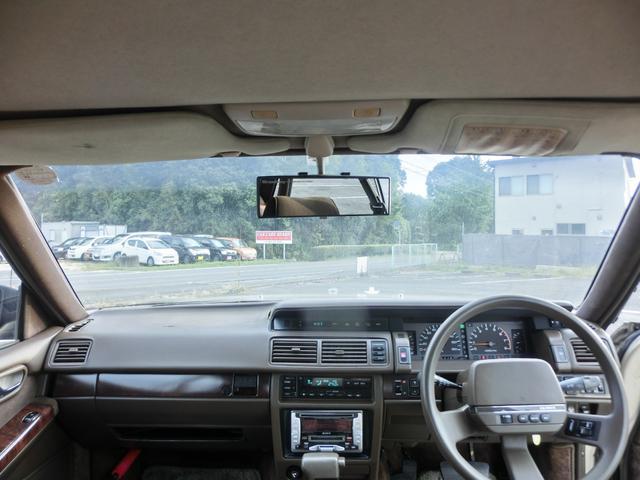 ブロアムVIP ターボ 3000cc 4ドア ピラーレスハードトップ ブロアムVIPターボ エアサス カーステレオ以外 ノーマル(18枚目)