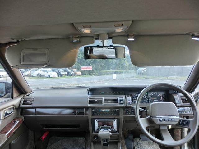 ブロアムVIP ターボ 3000cc 4ドア ピラーレスハードトップ ブロアムVIPターボ エアサス カーステレオ以外 ノーマル(19枚目)