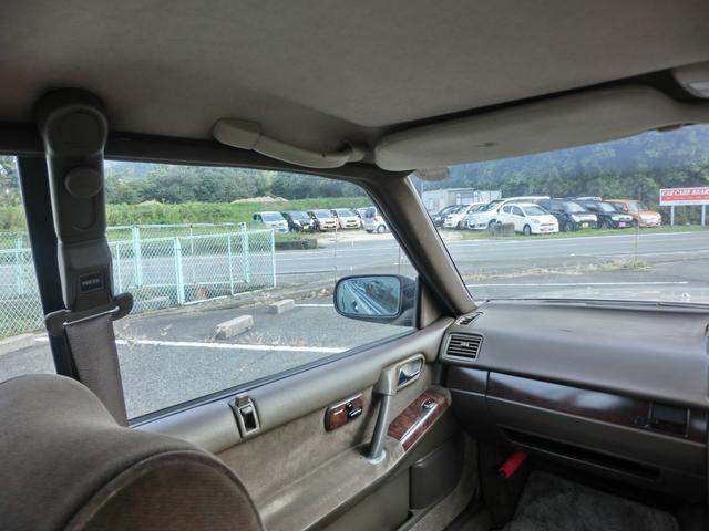 ブロアムVIP ターボ 3000cc 4ドア ピラーレスハードトップ ブロアムVIPターボ エアサス カーステレオ以外 ノーマル(23枚目)
