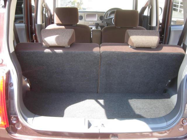 X 4WD キーフリー タイミングチェーン 1年保証付き 社外ナビ シートヒーター CD ETC タイヤ4本新品交換 純正アルミホイル 室内清掃 フル装備(17枚目)