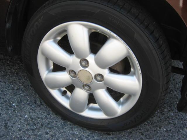 X 4WD キーフリー タイミングチェーン 1年保証付き 社外ナビ シートヒーター CD ETC タイヤ4本新品交換 純正アルミホイル 室内清掃 フル装備(18枚目)