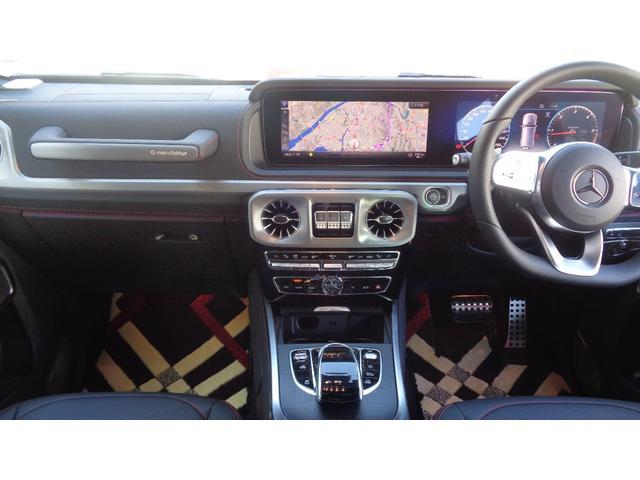 G350d マヌファクトゥーアエディション ・限定100台・3.0ディーゼルターボ・ジュピターレッド・ブラックルーフ・20インチAMGブラックスポークホイール・ナッパーシート・シートベンチュレーター(10枚目)