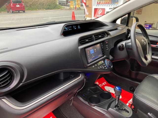 Gブラックソフトレザーセレクション ワンオーナー 禁煙車 純正SDナビ ワンセグTV BluetoothAudio ETC LEDヘッドライト スマートキー オートライト オートエアコン(8枚目)