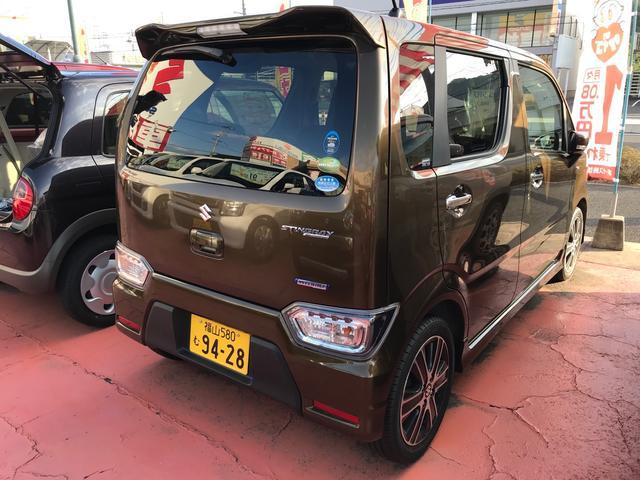 「スズキ」「ワゴンRスティングレー」「コンパクトカー」「広島県」の中古車4