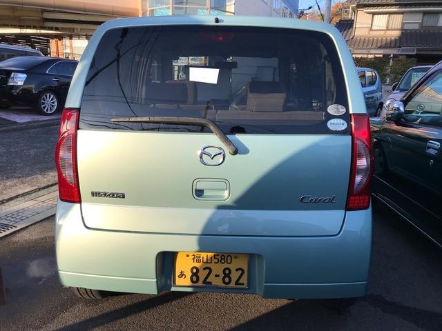 「マツダ」「キャロル」「軽自動車」「広島県」の中古車5