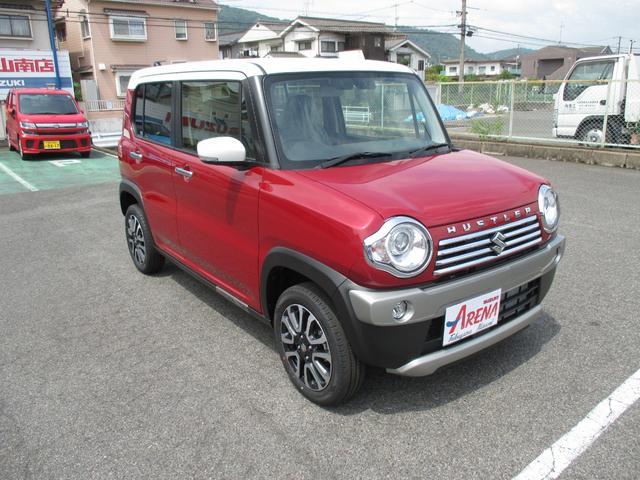 「スズキ」「ハスラー」「コンパクトカー」「広島県」の中古車4