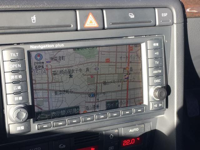 アウディ アウディ A4 2.0TFSIクワトロ 4WD キーレス TV ナビ ETC