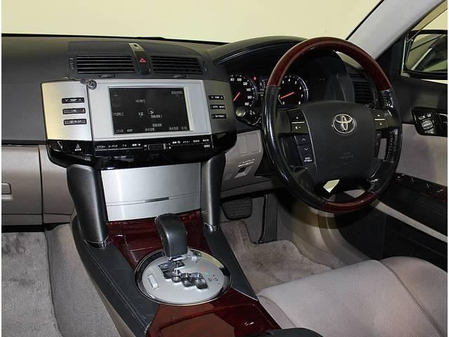 トヨタ マークX 250G Fパッケージ メーカーOPマルチBモニター HID