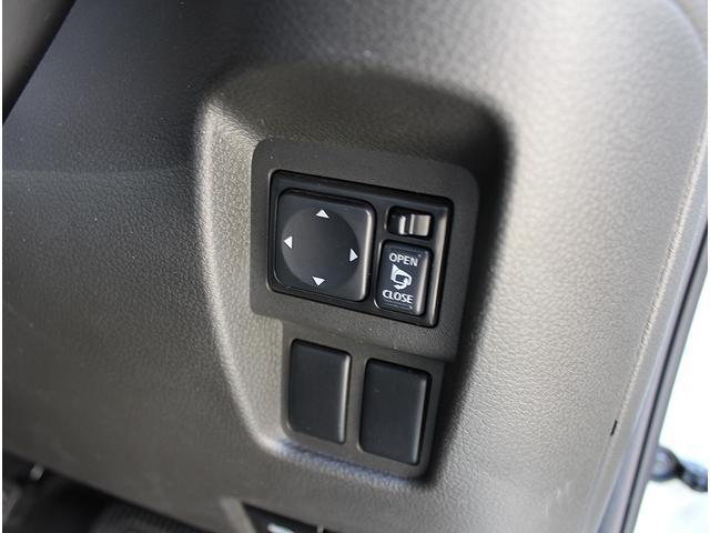 電動格納ミラーのスイッチはこちらに。