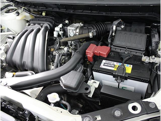 CVTとの組み合わせで低燃費を実現してくれます。