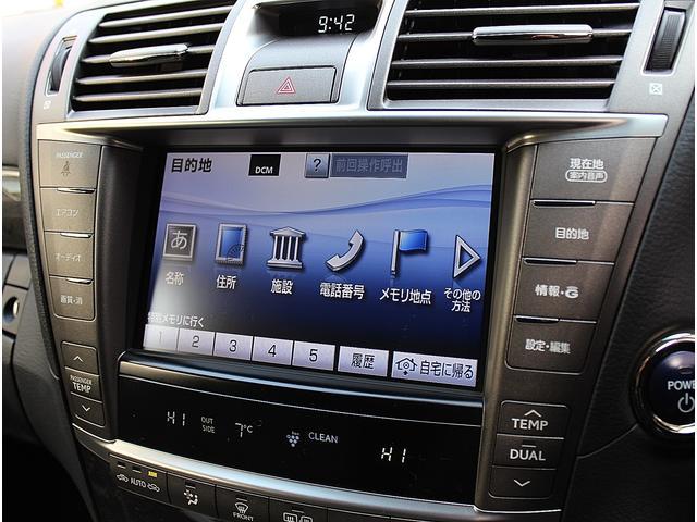 レクサス LS LS600h I 黒革 SR HDDマルチ ドラレコ 保証付