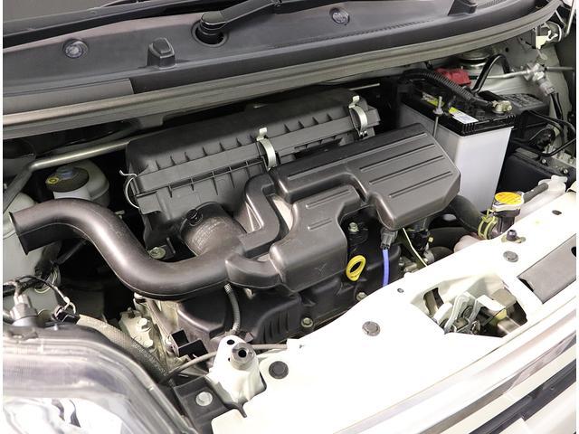 しっかりメンテナンスされたエンジンです