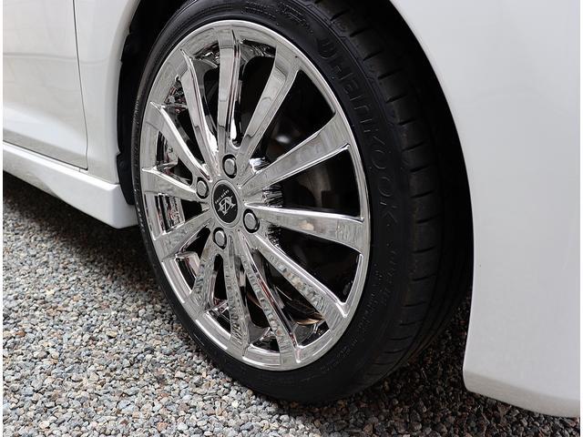 新品ヴァリグライン16インチメッキアルミ&タイヤを装着しました。