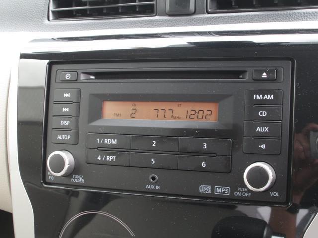 X  アラウンドM エマブレ 禁煙車 ワンオーナー CD(7枚目)