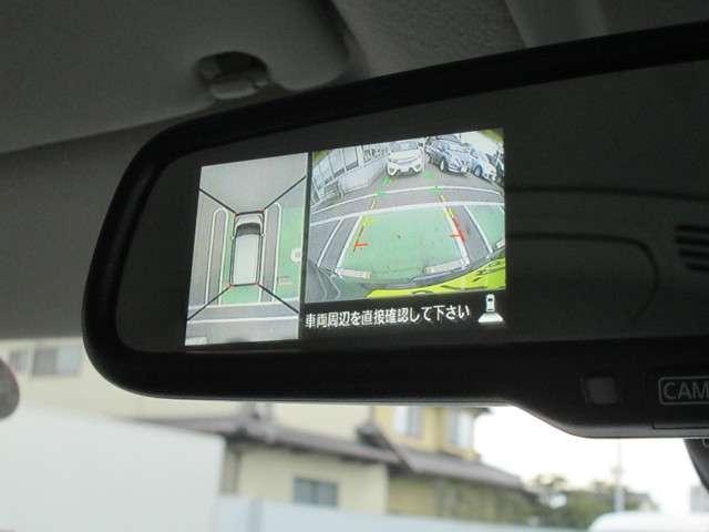 CMでお馴染みのアラウンドビューモニターです!車両の周りの安全確認に役立ちます!