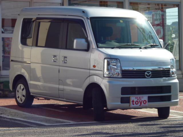 マツダ スクラムワゴン PXターボ 社外HDDナビ