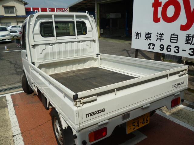 マツダ スクラムトラック KCスペシャル・5MT・エアコン・AM・FM