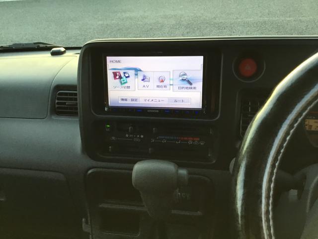 VC フル装備 電格ミラー ナビ ワンセグテレビ CD DVD USB端子 キーレスエントリー 後部座席荷台マット付き(11枚目)