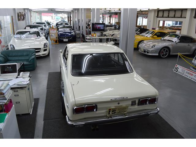日産 スカイライン GT-Rクーペ ハコスカ ガレージ保管 オリジナルキー 禁煙