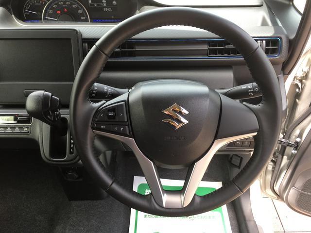 ハイブリッドFZ スズキセーフティサポート デュアルカメラブレーキ 後退時ブレーキ スマートキー パーキングセンサー オートエアコン シートヒーター LEDライト 純正アルミ プライバシーガラス(16枚目)