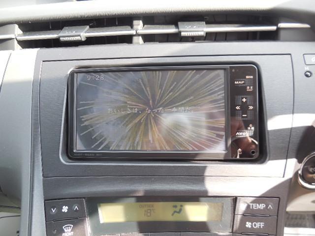 トヨタ プリウス S 純正ナビフルセグTV ETC バックカメラ