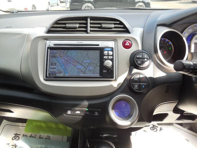 ホンダ フィットハイブリッド ベースグレード ドライブレコーダー ETC ナビ