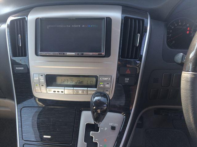 トヨタ アルファードG MS サンルーフ HDDナビ フルセグTV ETC