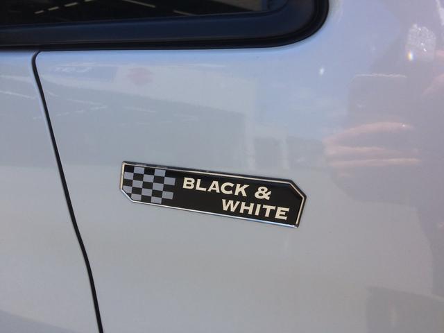 ブラック&ホワイトII 片側パワースライドドア スマートキー(13枚目)