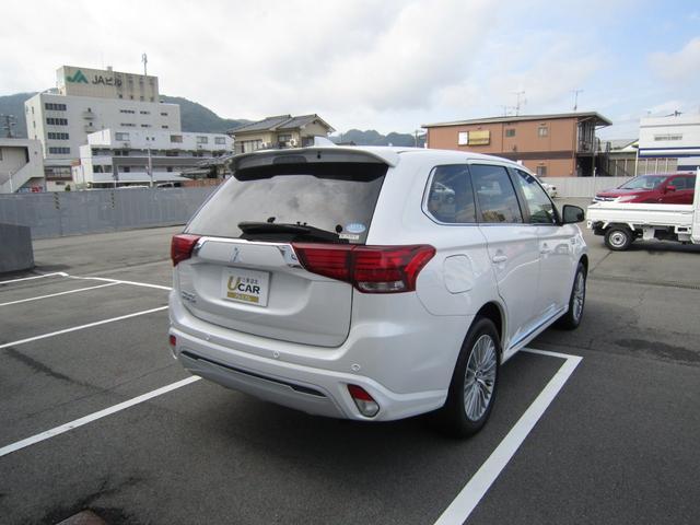 「三菱」「アウトランダーPHEV」「SUV・クロカン」「広島県」の中古車8