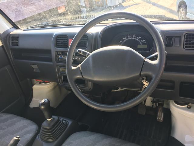 スズキ キャリイトラック エアコン パワステ ワンオーナー 4WD