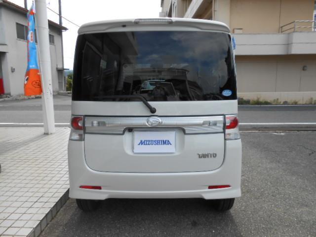 ダイハツ タント カスタムX 4WD ナビワンセグTV