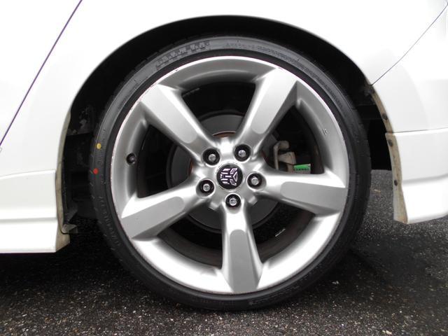 フェアレディZ用18インチ フロント8j リア8.5j 新品タイヤに交換!エスペリアダウンサス!