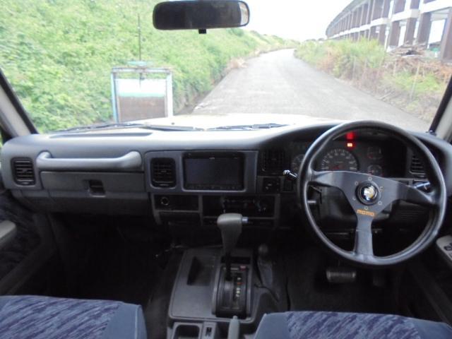 トヨタ ランドクルーザープラド SXワイド ディーゼルターボ リフトアップ 4WD ナビ