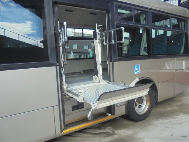 いすゞ いすゞ エルガミオ 8ナンバー 車いす移動車 エアサス バックカメラ