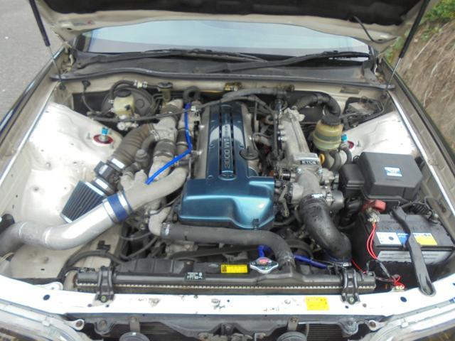 ツアラーV 2JZエンジン 6速MT 車高調 エアロ(15枚目)