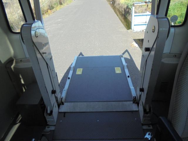 車いす移動車 オートステップ AT リア観音開き(15枚目)