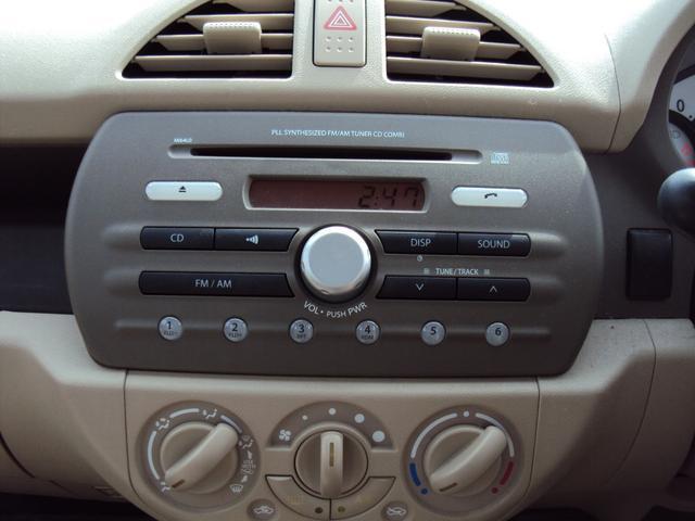 F 5速MT キーレス CD ワンオーナー禁煙車 盗難防止(10枚目)