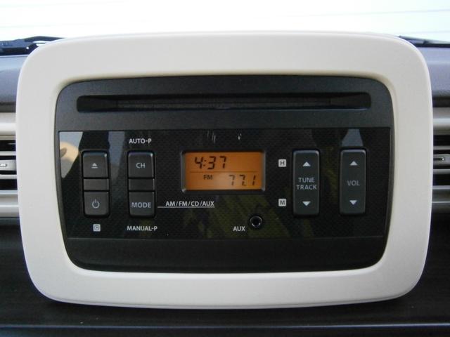 スズキ アルトラパン Fリミテッド 純正CDラジオ ブレーキサポート