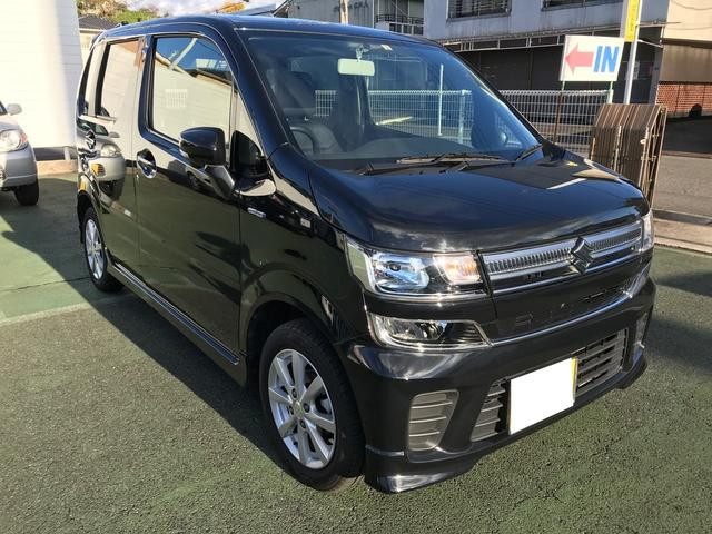 ハイブリッドFZ TV ナビ 軽自動車 ブラック CVT(3枚目)