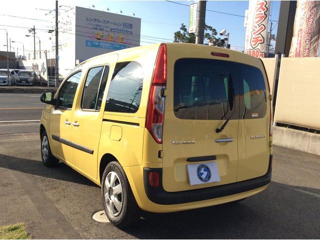 ルノー ルノー カングー ゼン 正規ディーラー車 禁煙車