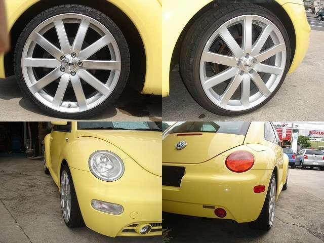 フォルクスワーゲン VW ニュービートル 2 L 左H 新品19インチホイール・タイヤ