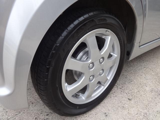 カスタムX!LTD後期モデル!純正14インチアルミホイール!女性ワンオーナー走行が少ない良好美車輌!ホイルは4本共にキズや汚れは全くありませんピカピカです♪タイヤの溝は4本共に80%あります!