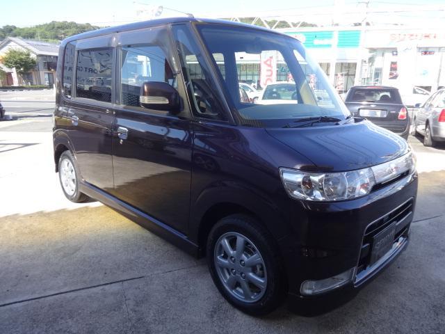 カスタムX ワンオーナー HID  タイヤ4本新品に交換済み(7枚目)